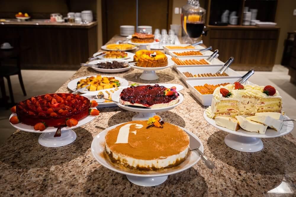 Café da manhã Hotel Fioreze Primo